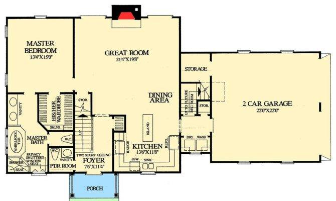 Cape Cod Homes Open Floor Plans