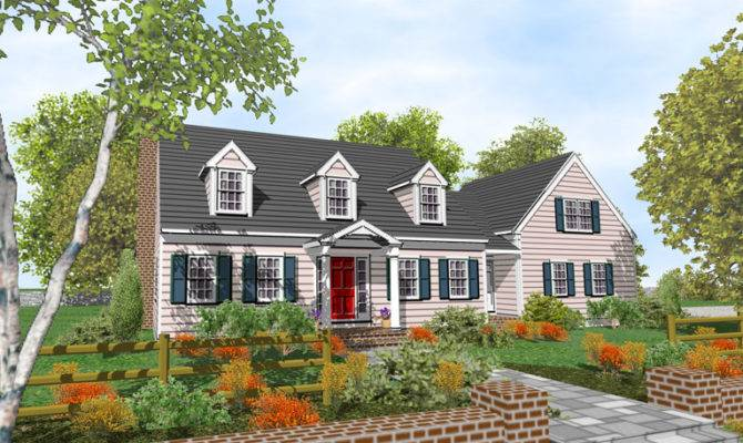 Cape Cod House Design Styles Home Interior Decorating