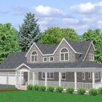 Cape Cod House Plan Bedroom Traditional Plans