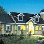 Cape Cod House Plan Bedrooms Bath