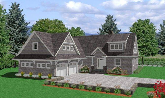Cape Cod House Plan Square Foot Traditional