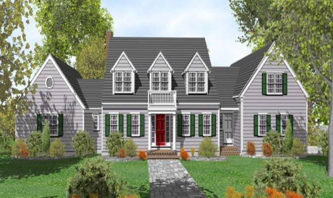 Cape Cod House Plans Floor Plan