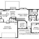 Cape Cod House Ranch Style Floor Plans Basement