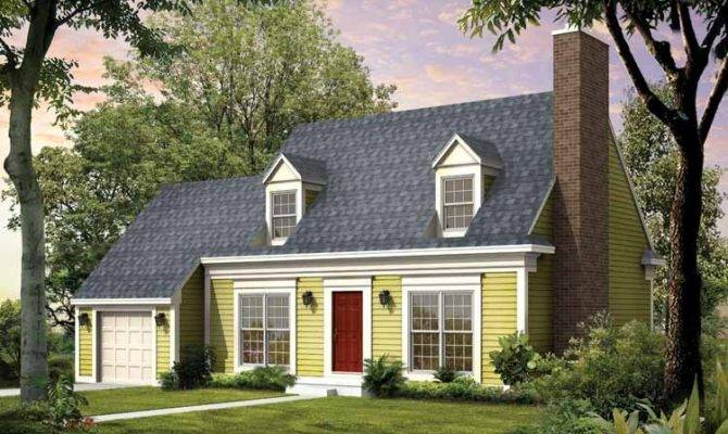 Cape Cod Style Home Can Tell Way Roof