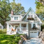 Cape Cod Style Home Design House Plan