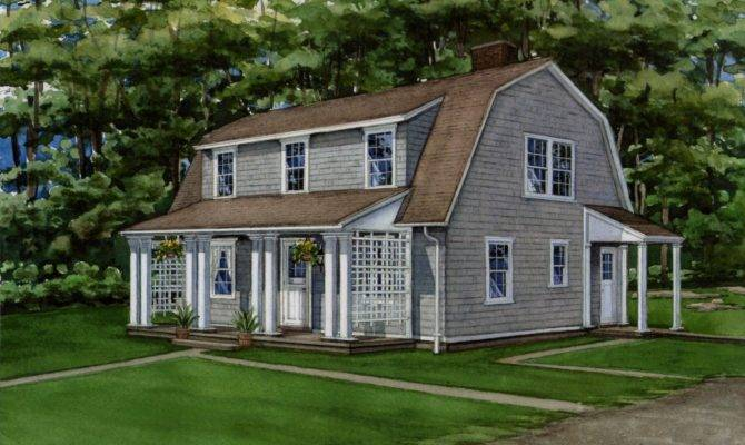 Cape Cod Style House Plan