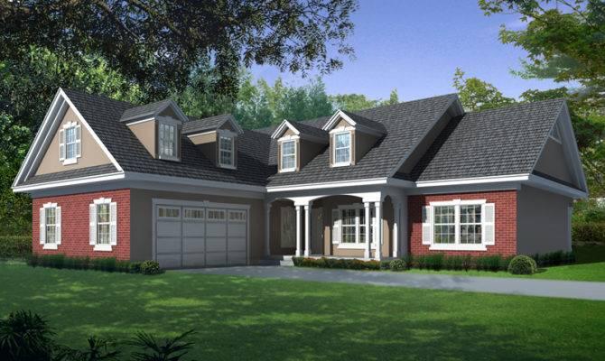 Cape Cod Style House Plans Garage