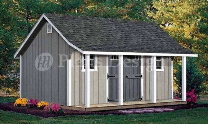 Cape Code Storage Shed Porch Plans
