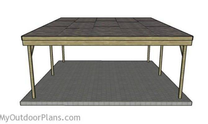 Car Carport Plans Myoutdoorplans Woodworking