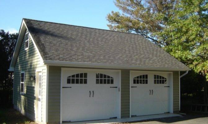 Car Detached Garage Kits Plans Better Garages