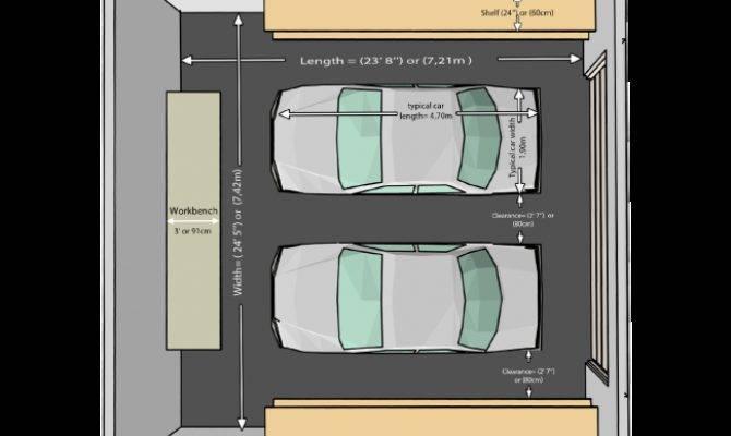 Car Garage Average Two