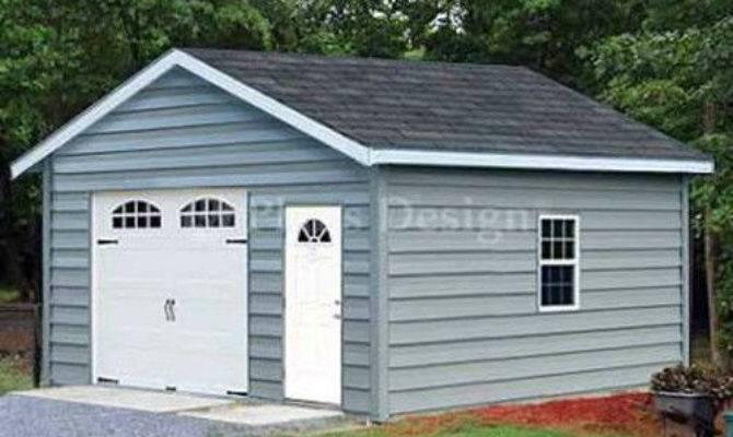 Car Garage Building Plans Structure Blueprint