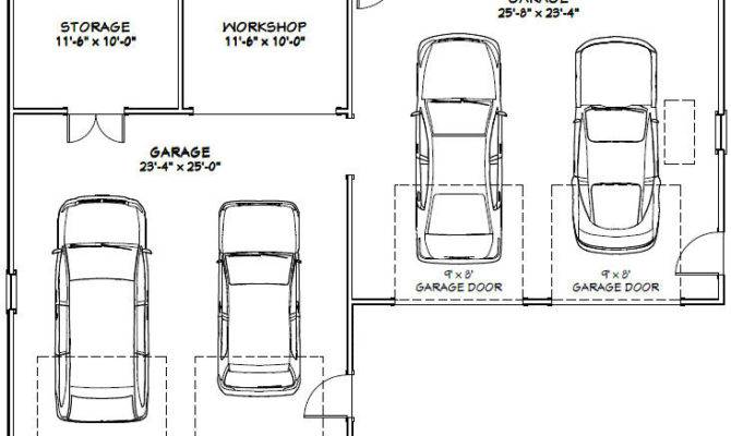 Car Garage Building Plans