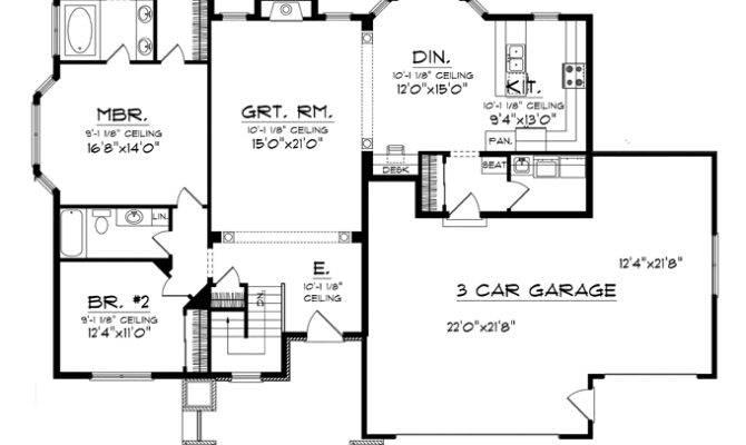 Car Garage House Plans Print Floor Plan
