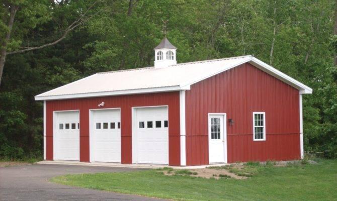 Car Garage Kit Affordable Pole Barn Kits