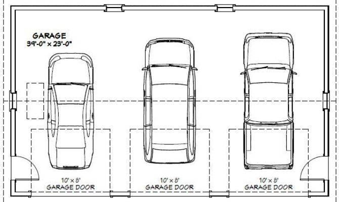 Car Garage Pdf Floorplan