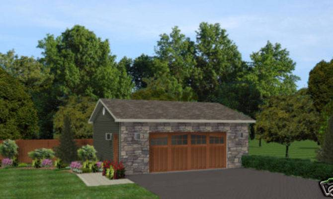 Car Garage Plans Blueprints Plan Ebay