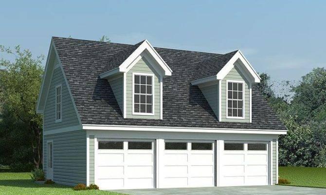 Car Garage Plans Loft Smalltowndjs