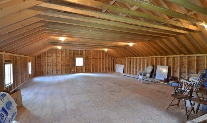 Car Garage Plans Loft