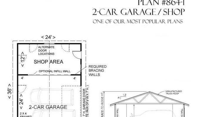 Car Garage Shop Plan Behm