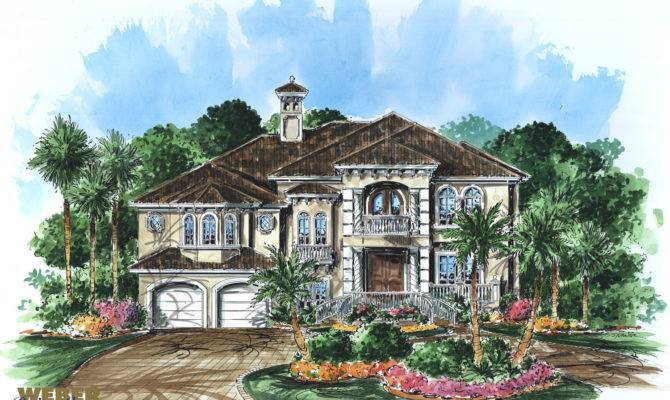 Caribbean Home Design Croix Plan Weber Group