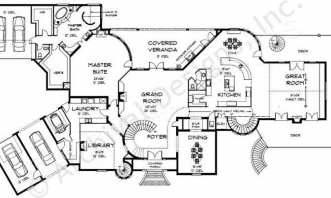Carlisle Castle European House Plans