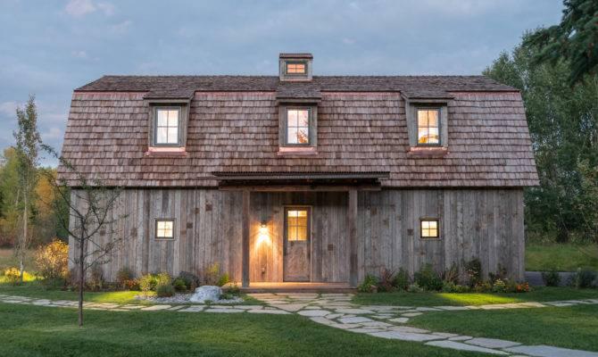 Carney Logan Burke Creates Barn Shaped Guest House
