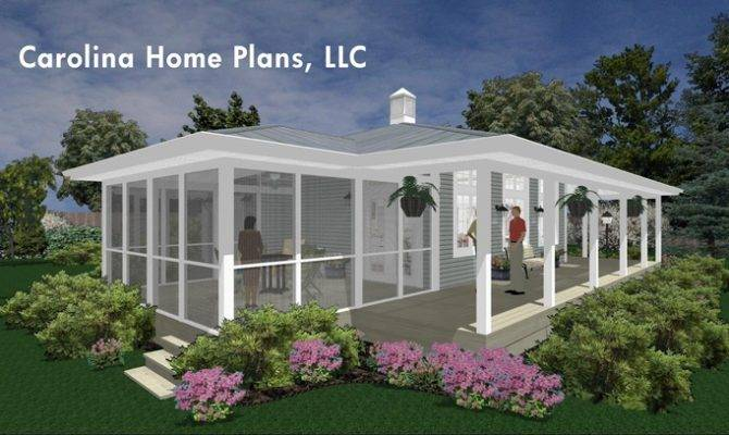 Carolina Home Plans Llc House Porches Pintere
