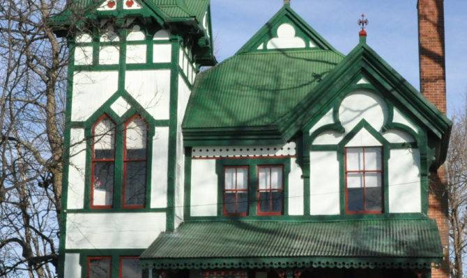Carpenter Gothic Revival Cottage Wikimedia Commons