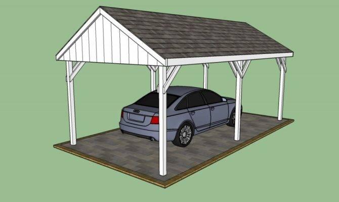 Carport Plans Howtospecialist Build Step