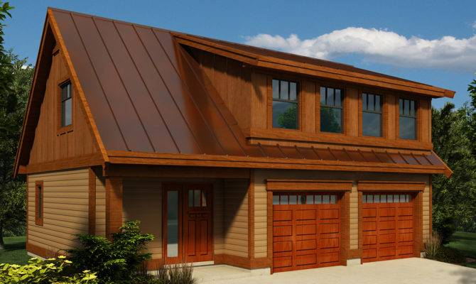 Carriage House Plan Shed Dormer Canadian