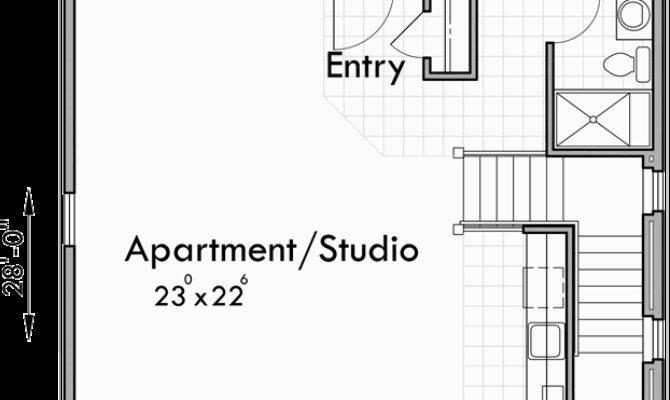 Carriage House Plans Apartment Garage Studio