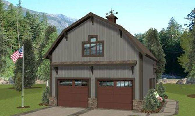 Carriage House Plans Barn Style Plan