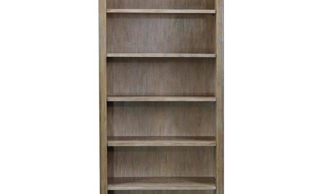 Carthage French Country Oak Shelf Adjustable Bookshelf