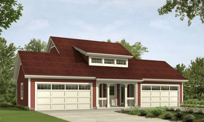 Caryville Apartment Garage Plan House Plans