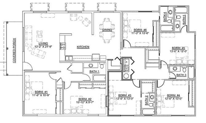 Casa Bonita Rentals Bedrooms
