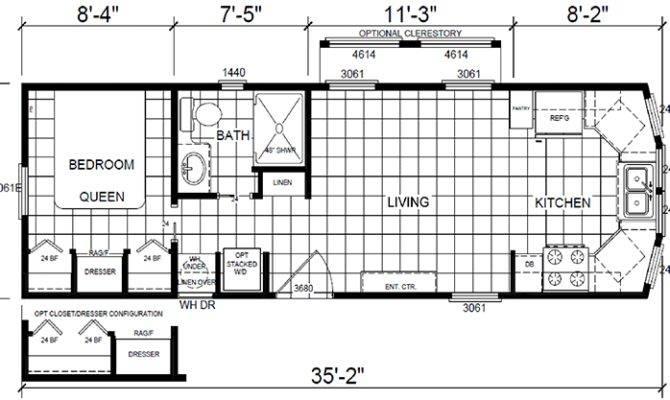 Casita Floor Plan Park Model Homes Texas Louisiana
