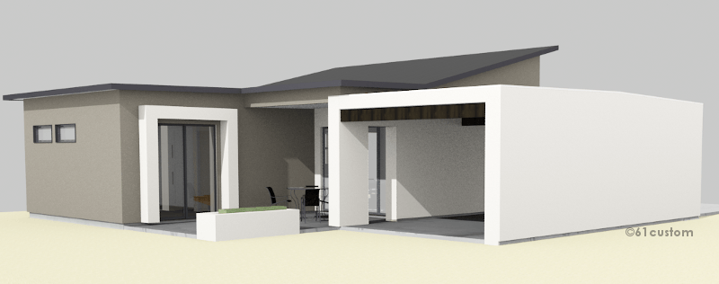 Casita House Plan Custom Contemporary Modern Plans