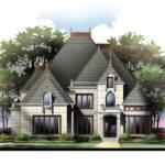Castle House Plans Home Styles Archival Designs
