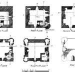 Castle House Plans Towers Floor