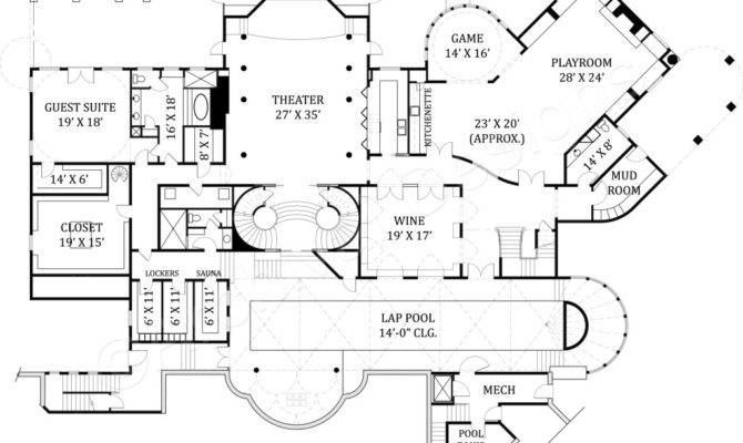 Castle Ourem House Plan Designer Archival Designs