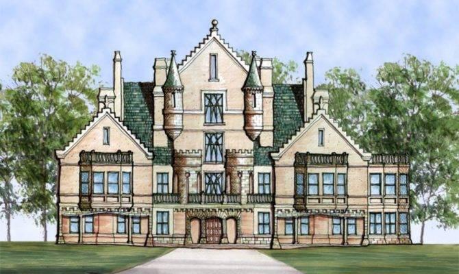 Castle Ourem House Plans Home Archival Designs
