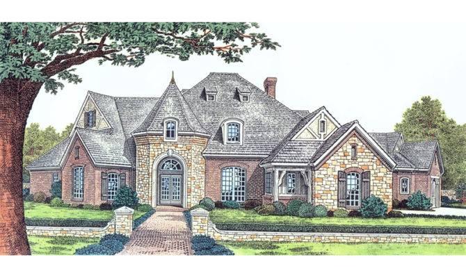 Castle Style Home Plans Pinterest