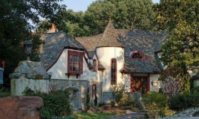 Castle Style House Suburbs United States