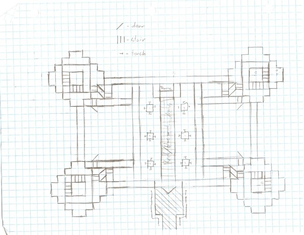 Castles Xbox Blueprints Minecraft Castle Schematics Nice