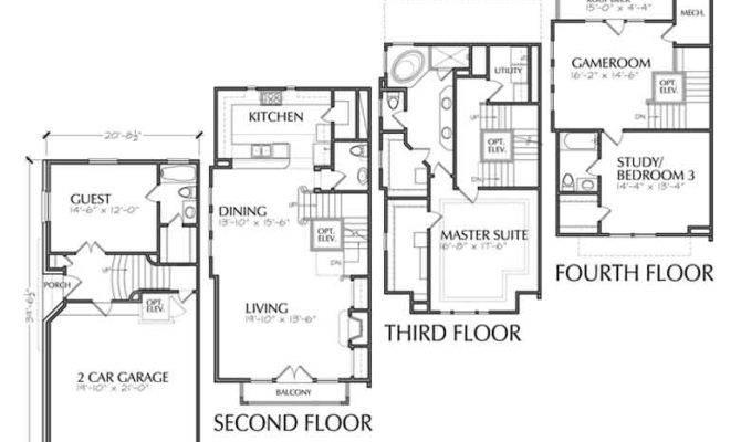 Catalog Duplex Plans Townhouse