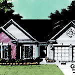 Cathedral Ceiling Ranch House Plans Designs