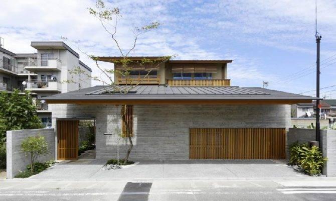 Cawah Homes Contemporary Wooden House Hinomiya Tsc Architects
