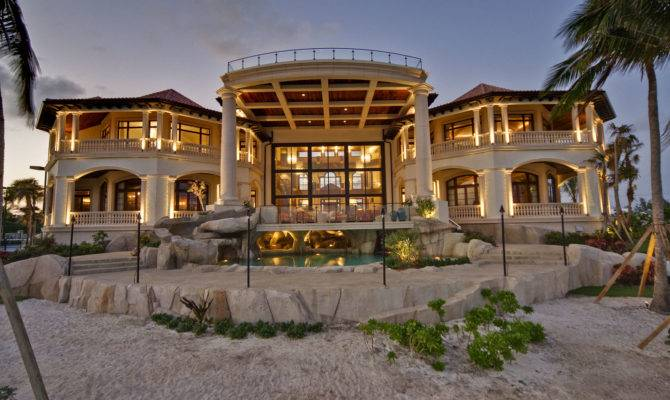 Cayman Islands Mega Mansion Homes Rich