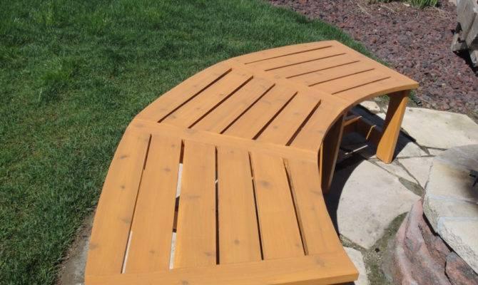 Cedar Curved Bench Plans Woodworktips
